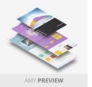 AMY Theme - Creative Multi-Purpose WordPress Theme - 5